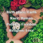 Birth Place: Earth