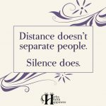 Distance Doesn't Separate People