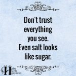 Don't Trust Everything You See