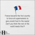 France Became The First Country To Force All Supermarkets To Give Unsold Food