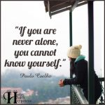 If You Are Never Alone