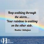 Keep Walking Through The Storm