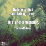 Nature Is Alive