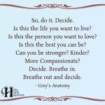 So, Do It. Decide