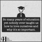 So Many Years Of Education