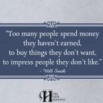Too Many People Spend Money They Haven't Earned