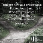 You Are Now At A Crossroads