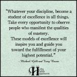 Whatever Your Discipline