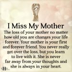I Miss My Mother
