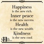 Happiness Is The New Rich